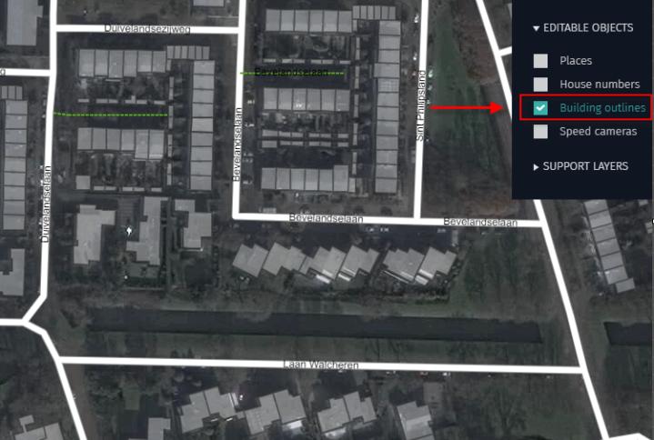 15.11.19 Marking building outlines